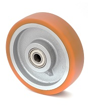 Колесо без кронштейна с шариковым подшипником 45-201х80-В