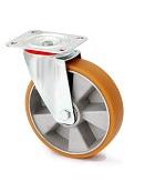 Колесо поворотное в средне усиленном кронштейне 4402-LR-150-B