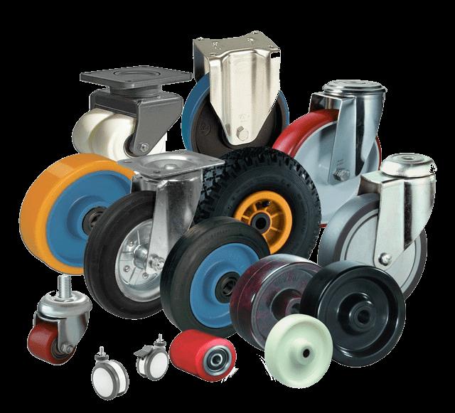 СНБ Компани лидер на рынке поставок колес для тележек