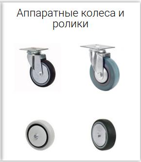 аппаратные колеса