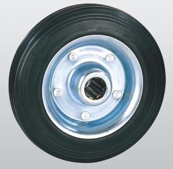 Колеса и ролики из стандартной черной резины (серия 10) эконом вариант