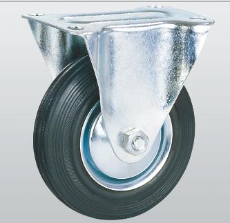 Колесо неповоротное с крепежной панелью 1007-E-125-R