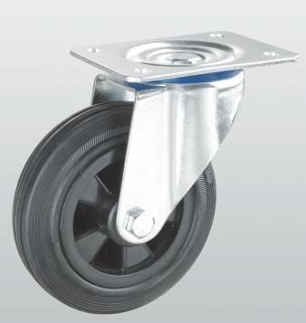 Колесо поворотное с крепежной панелью PROFI 1202-PF-160-P