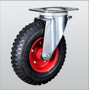 Колесо поворотное с крепежной панелью 1802-PF-160-B