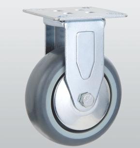 Колесо неповоротное с крепежной панелью 3107-S-075-P