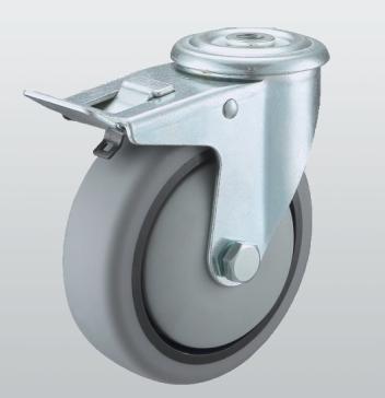 Колеса и ролики из термопластичной серой резины (серия 32) STANDART