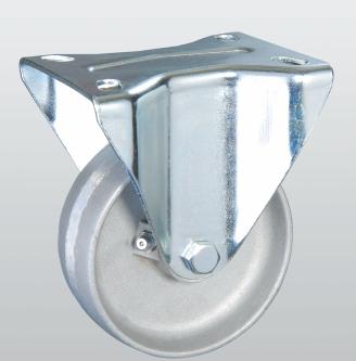 Колесо термостойкое из алюминия с неповоротной крепежной панелью 5407-TR-150-R