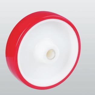 Колесо без кронштейна с подшипником скольжения 43-080-30-P