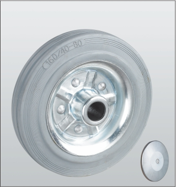 Колесо без кронштейна с роликовым подшипником 15-125х37-R